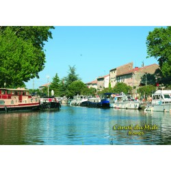 Magnet Canal du Midi Homps Can 31