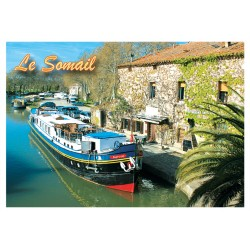 Magnet Canal du Midi Somail Can 10