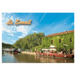Magnet Canal du Midi Somail Can 33