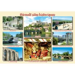 Hérault sites historiques