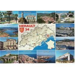 SEM Hérault carte