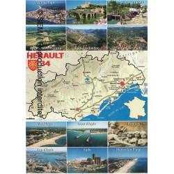 L'Hérault Béziers Valras Vias Canal Cap Pézénas