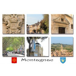 Carte postale Montagnac 291