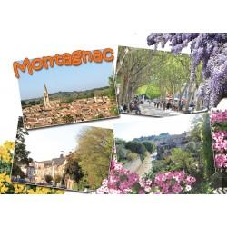 Carte postale Montagnac 2405