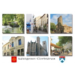 Carte postale Lézignan 1
