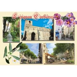 Carte postale Lézignan 35