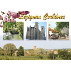 Carte postale Lézignan 54