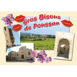 Carte postale Poussan 29