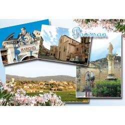 Carte postale Poussan 251