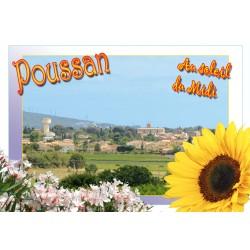 Carte postale Poussan 301