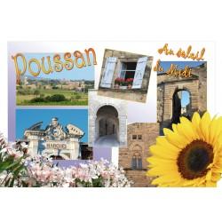 Carte postale Poussan 302