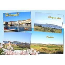 Carte postale Poussan 491