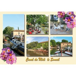 CAN 55  Canal du Midi le Somail