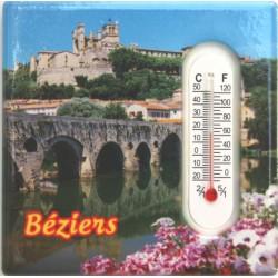 Magnet céramique thermomètre Béziers
