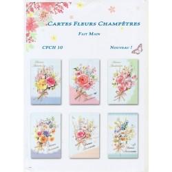 Cartes Fleurs Champêtres
