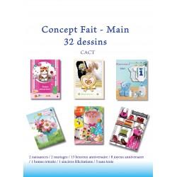 Concept 32 carnets