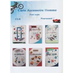 Cartes Accessoire homme