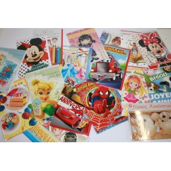 Lot cartes enfants assorties