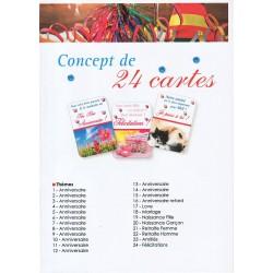 Concept 24 carnets