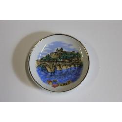 Mini assiette Béziers 10cm + chevalet