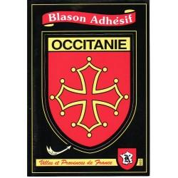 Autocollant croix du Languedoc