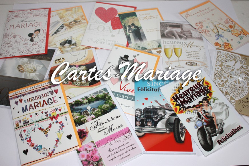 Cartes Mariages